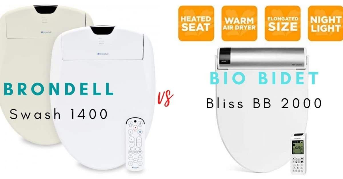 Brondell Swash 1400 vs Bio Bidet BB 2000 Compared