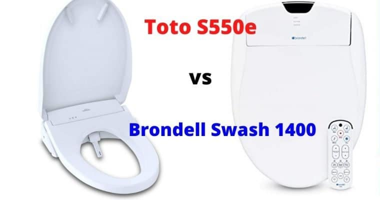 Brondell Swash 1400 vs Toto S550e – Which is Better?