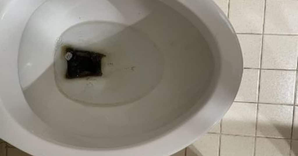 black-stains-in-a-toilet-bowl